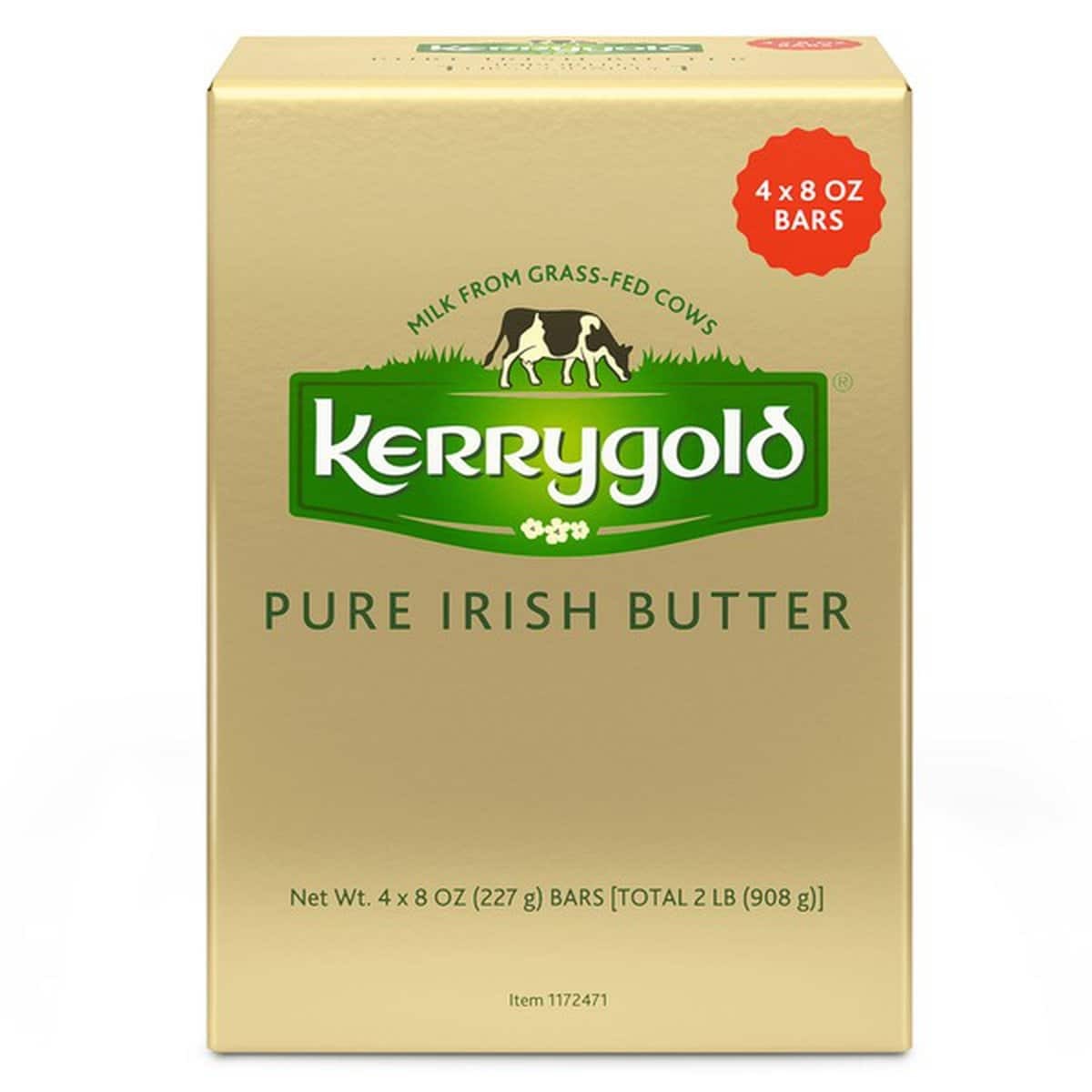Costco Members : Kerrygold Pure Irish Butter Salted / Unsalted, 4 x 8 oz - $8.99 In-Store Nov 20 - Nov 30