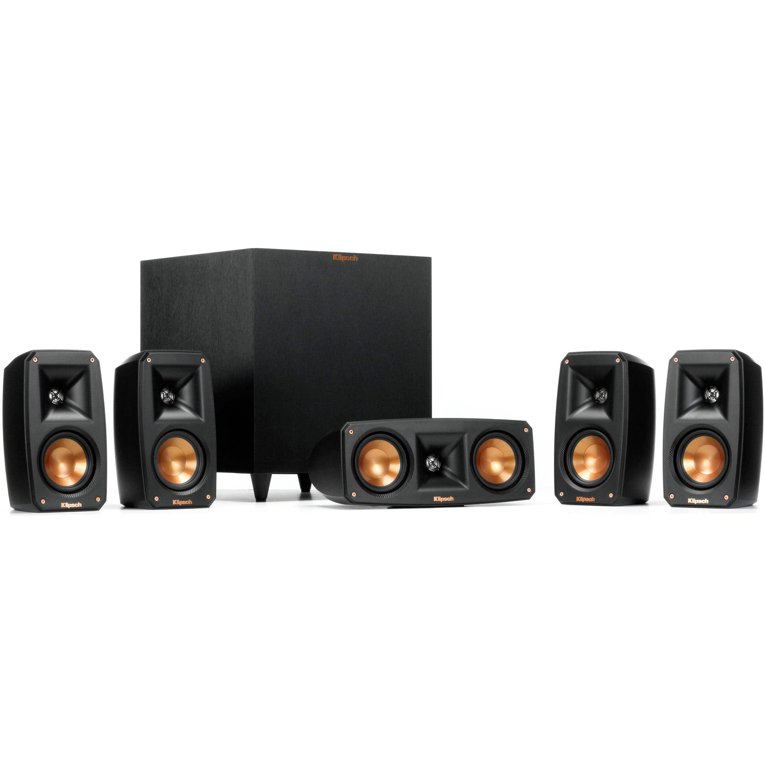 Klipsch Reference Theater Pack 5.1 Channel Surround Sound System $349.99