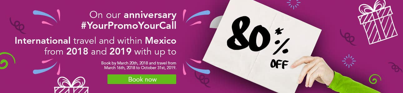 80% International Travel and Within Mexico