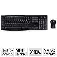 TigerDirect Deal: Logitech Wireless Keyboard and Mouse Combo $9.99 (67% off)