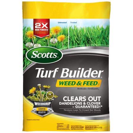 Scotts Turf Builder Weed & Feed 3 -15,000 sq. feet - Was $73.52 - Now $13.00 B&M YMMV