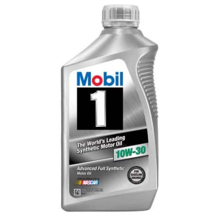 Mobil Quart Synthetic Oil 10w30 or 0W20 (Pack of 6) - $8