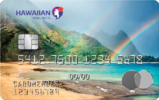 Hawaiian Airlines World Elite Master Card - $0 annual fee