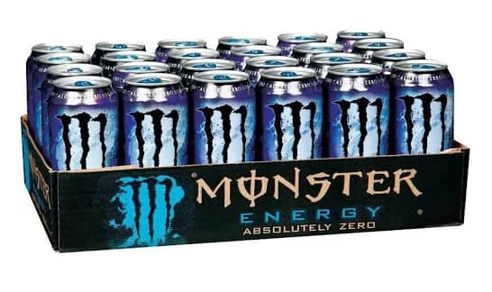 Monster Absolutely Zero Energy Drink 24 pack, 16 fl oz cans $30.20 Final Price w/Code Free Shipping