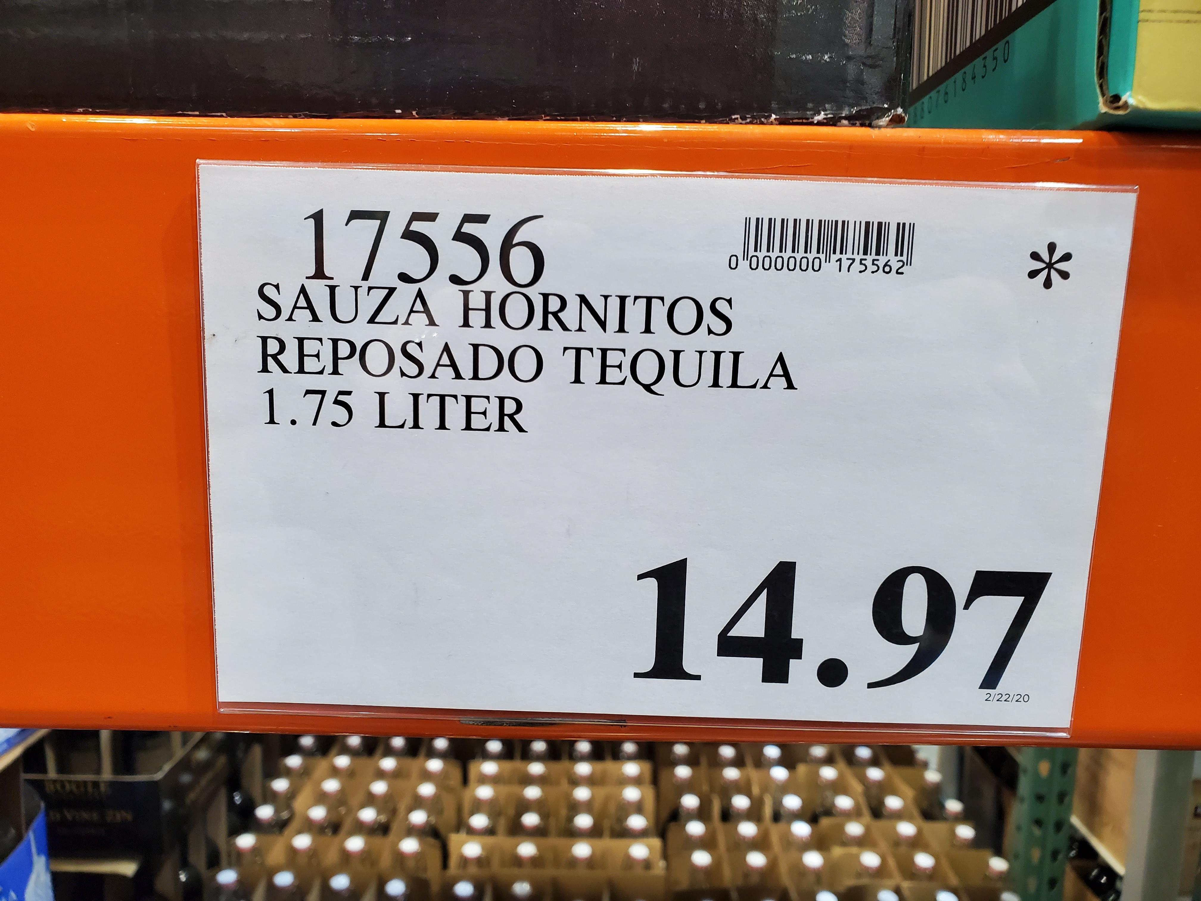 Sauza Hornitos 1.75L $14.97 @ Costco in store YMMV. What virus?
