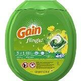 Gain Flings Original Laundry Detergent Pacs, 81 Count - $11.14 AC S&S @ Amazon