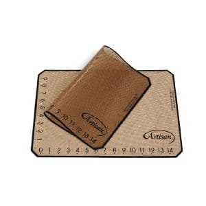 Artisan Non-Stick Silicone Baking Mat with Measurements - 2 Pack - $6.70 @ Amazon