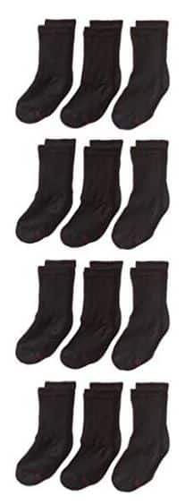 Hanes Ultimate Boys' Big 12-Pack Crew Socks $2.50 @ Amazon - add on item