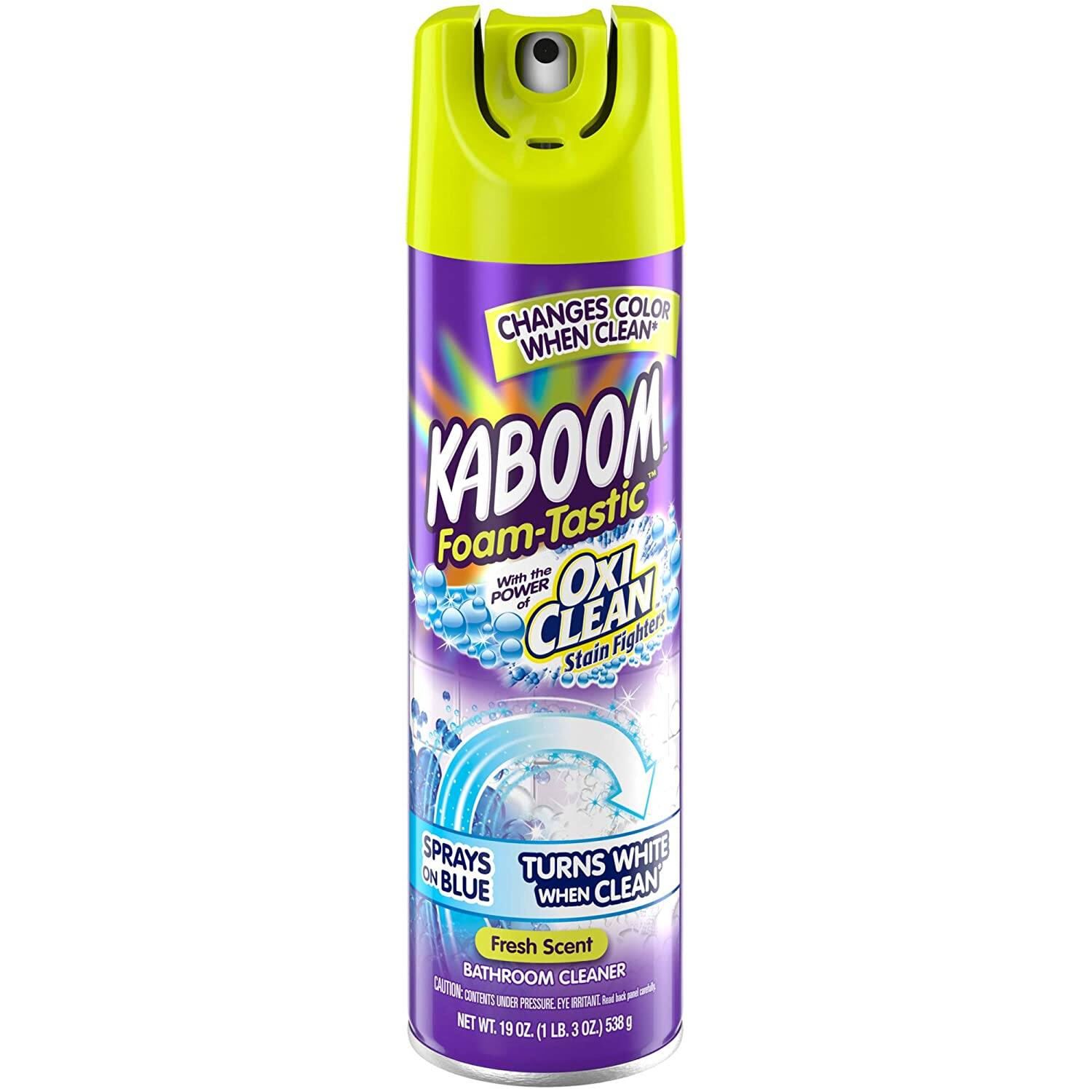Kaboom Foam-Tastic with Oxiclean Fresh, 19 Ounce (Pack of 8) $7.72 @Amazon