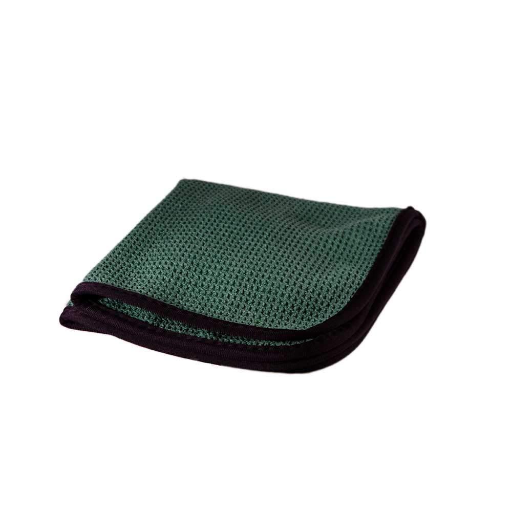 "Towels by Doctor Joe - Ultra-31 Green Waffle Weave 16"" x 16"" Microfiber Towel - 12 Pack $6.94 @Amazon"
