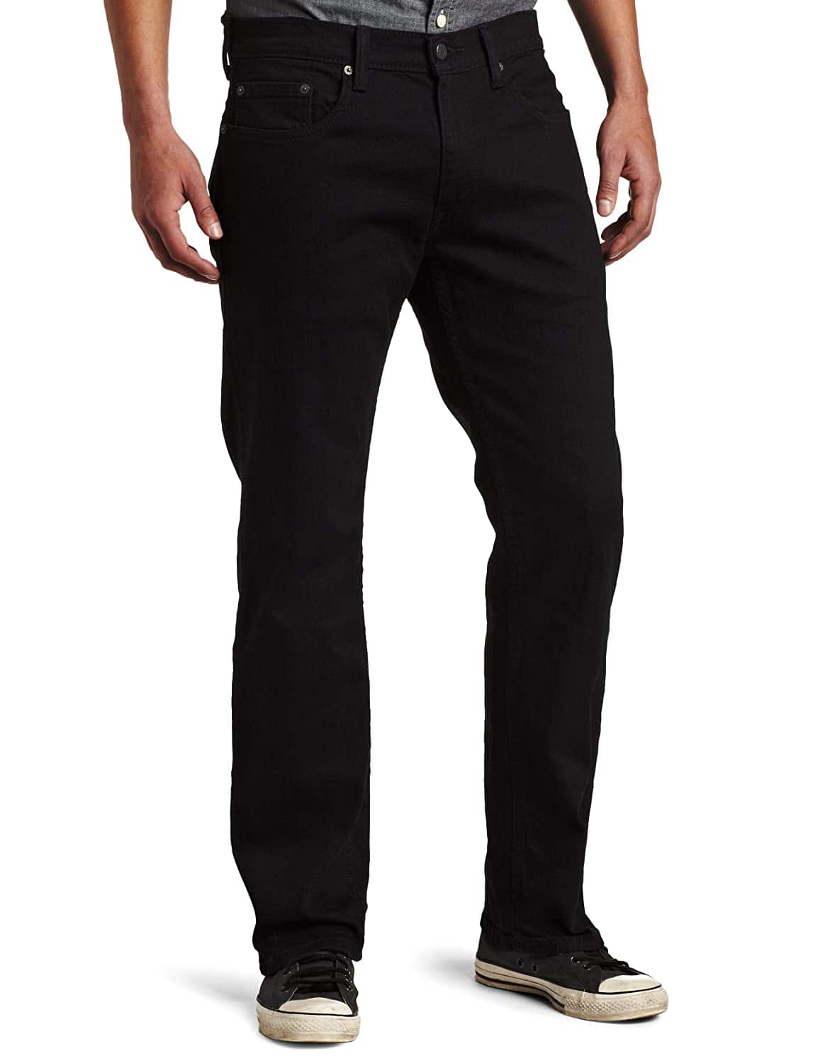 Levi's Men's 559 Relaxed Straight Jean Color: Black $9.00 @Amazon (limited sizes)