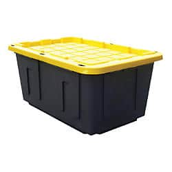 Centrex Plastics Tough Box Storage Tote, 27 Gallons -  4 or more and store pick up deal $8.09