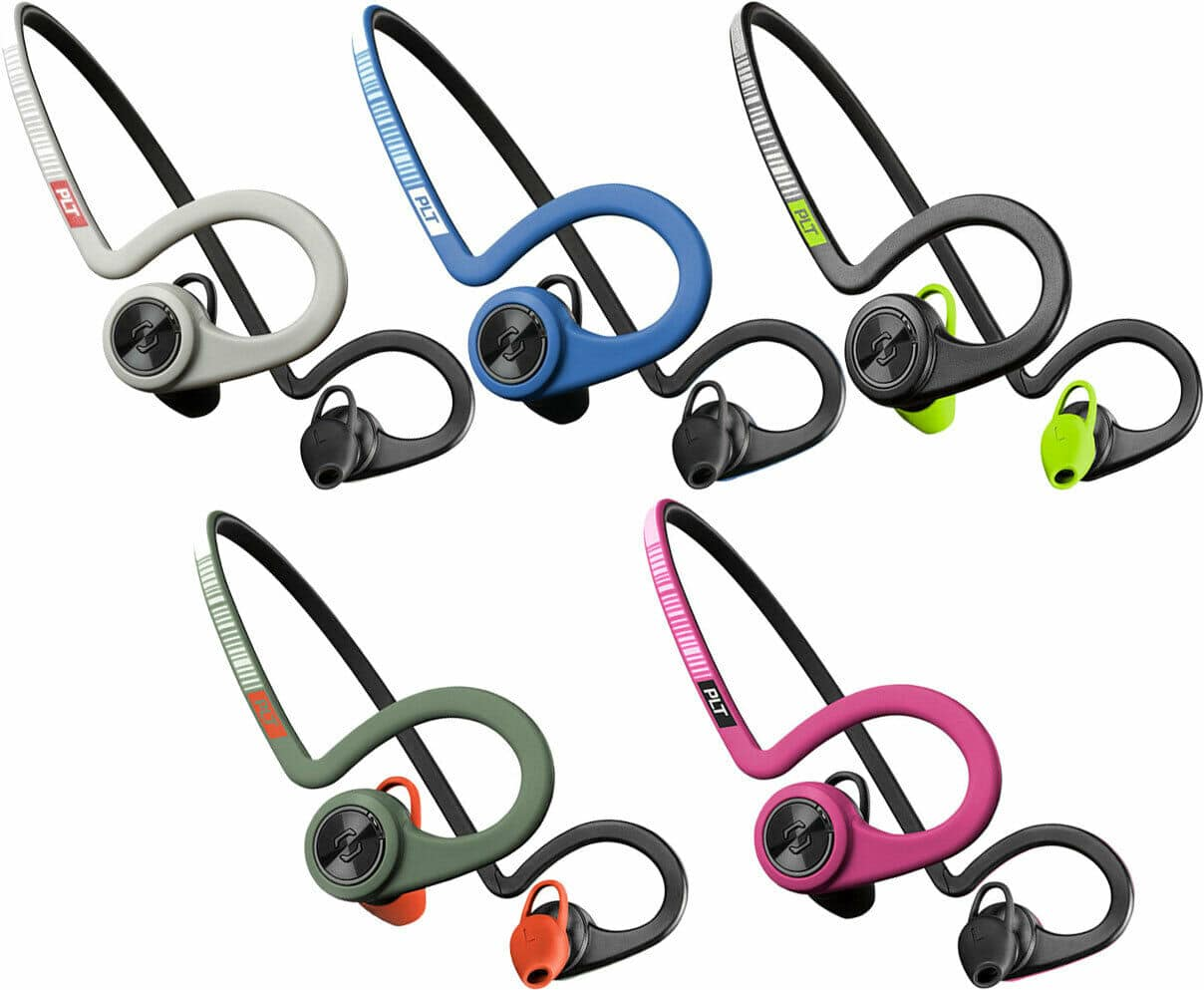 Plantronics BackBeat Fit PLT Version 2 Bluetooth Headphones with Mic (Refurbished) $24.99