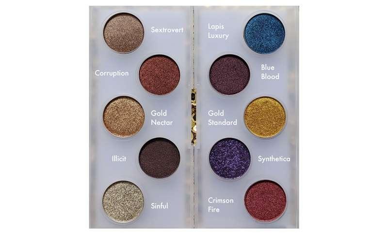 PAT MCGRATH LABS Mini Eye Ecstasy: Eyeshadow Palette. $17