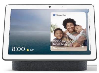 [First time Google Shopping user only] Google Nest Hub Max - Chalk/Charcoal - $179 + Free Shipping