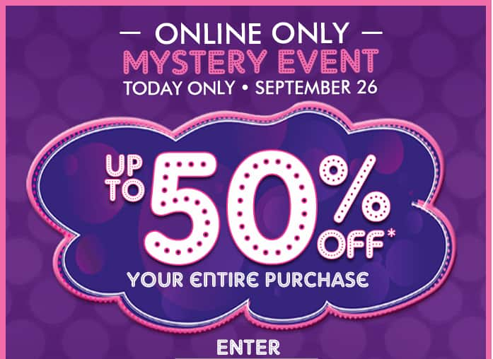 Childrens Place up to 50% off mystery coupon - check your email!