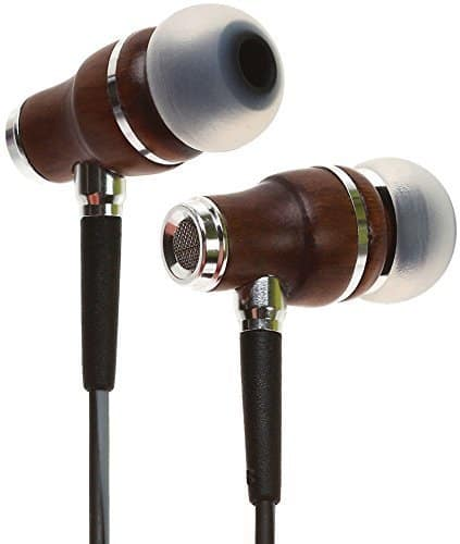 $15.50 - Symphonized NRG 3.0 Earbuds   Wood In-ear Noise-isolating Headphones with Mic & Volume Control