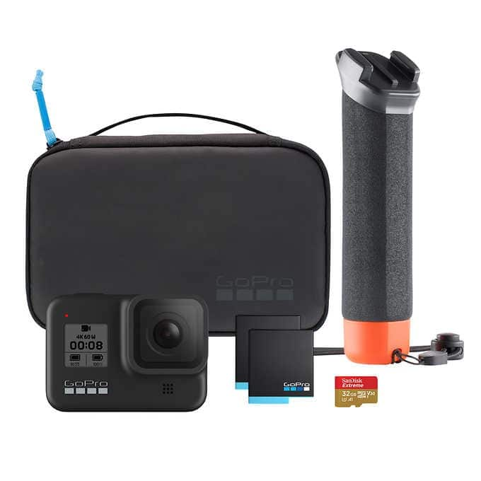 GoPro HERO8 Black Action Camera Bundle - $290 Back Again 6/5-6/20 $289.99