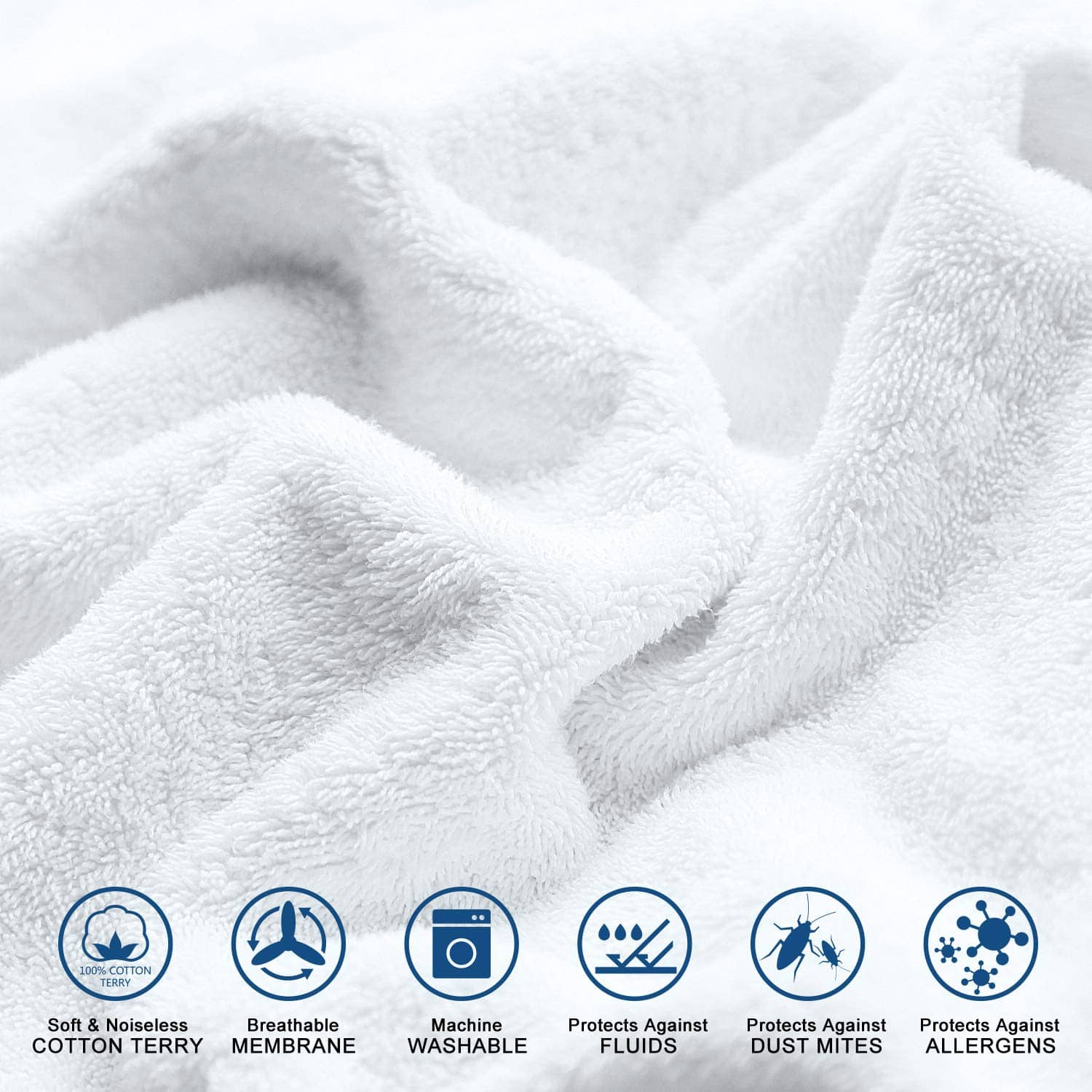 40% off Adoric Waterproof Mattress Protector (Full)for $11.99