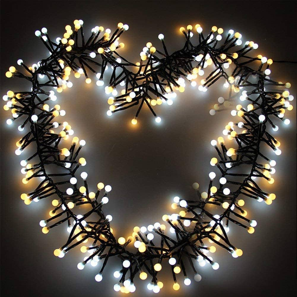 Litake LED String lights, 8 Modes,26ft 400 LEDs Waterproof Hanging Indoor Outdoor  lamps(up to 70%off)  $6.00 @amazon.com