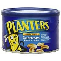 Amazon Deal: BACK! PLANTERS Cashews Halves & Pieces 8 oz x 4 $9.57 AC w/S&S, Pistachios Sea Salt & Black Pepper 12.75 oz x 3 $13.63 AC w/S&S