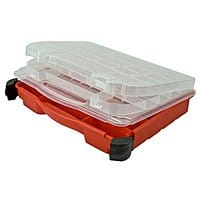 Amazon Deal: LOWEST!!  Plano Molding 5231 Double Cover Stow N Go Organizer, Porsche Red $4.99 Amazon (add-on) or Menard's