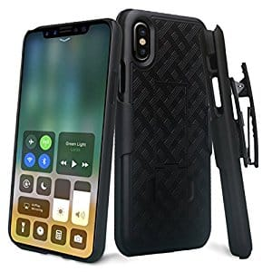 BOGO Free - iPhone X Holster Combo Cover $7.98