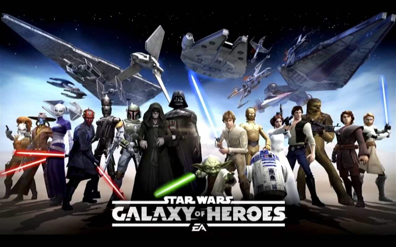 Star Wars: Galaxy of Heroes - Purchase Google Play Gift Card - Free Crystals / Shards / Credits $10