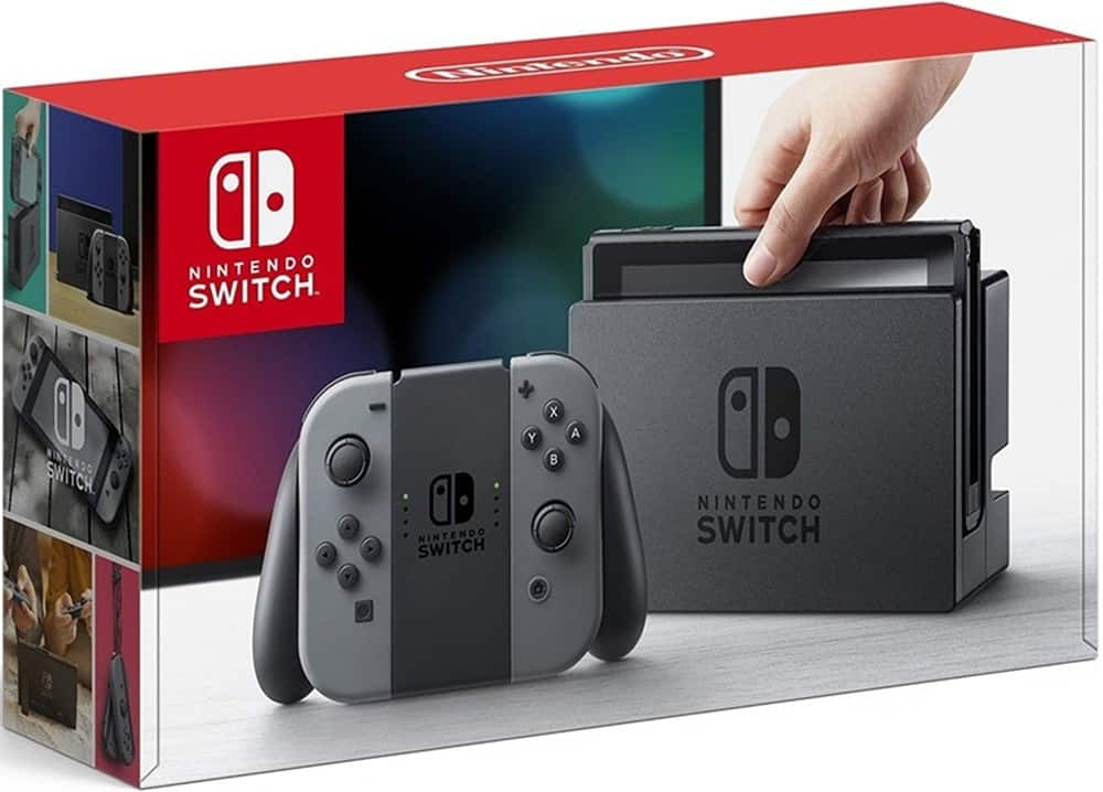 Nintendo Switch with Gray Joy-Cons $269.99