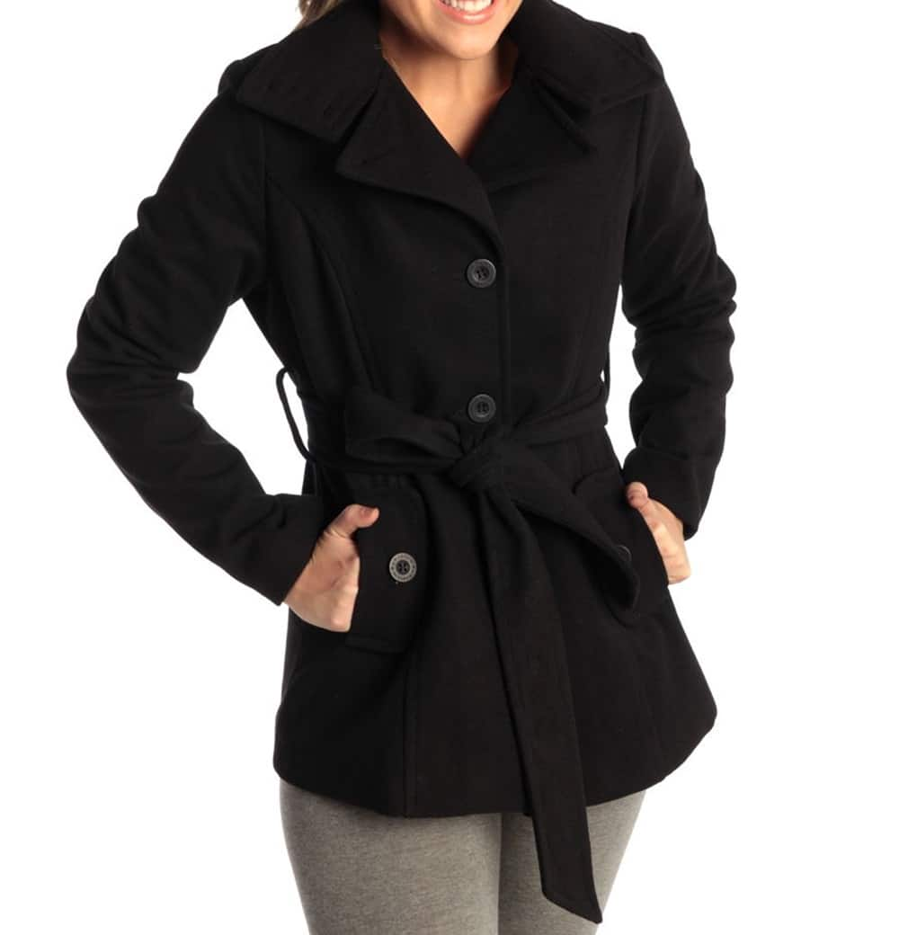 Womens Wool coat from Alpine Swiss for $26.50 Free shipping
