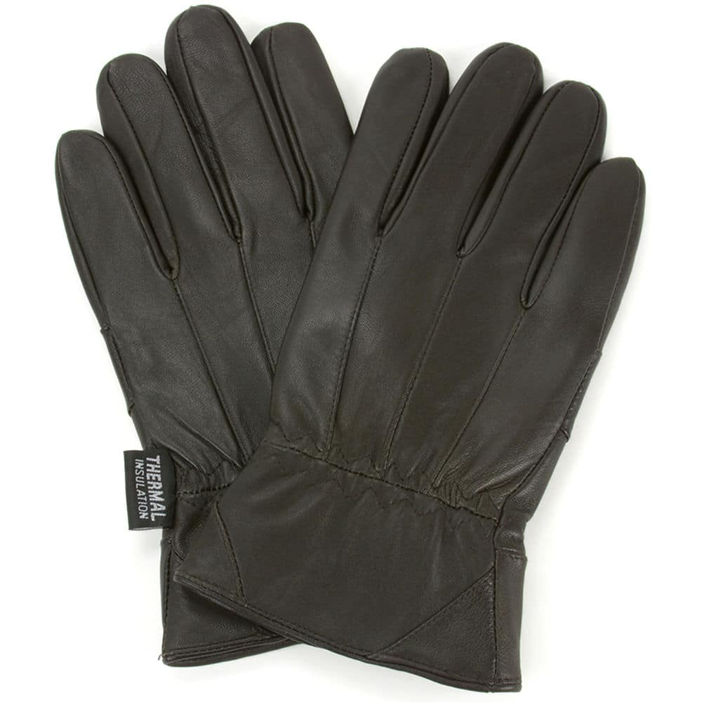 Touch screen leather gloves for men by Alpine Swiss on ebay daily Deals $8.99