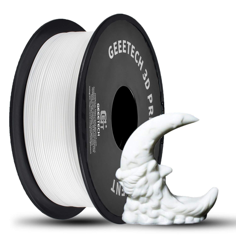 2.2lbs GEEETECH PLA 3D Printer Filament 1.75mm (White) $16.55 + FSSS