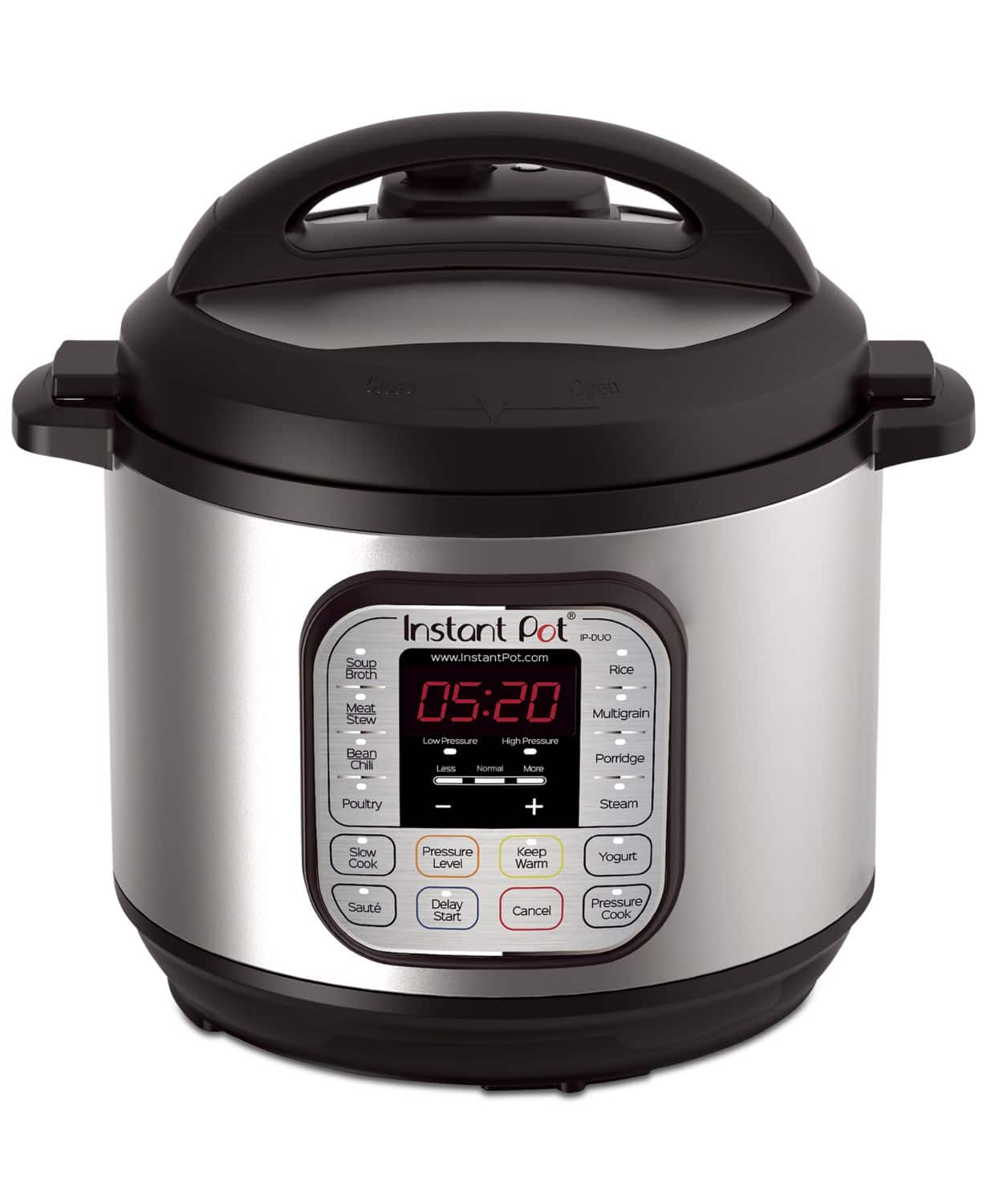 DUO80 7-in-1 Programmable Pressure Cooker 8-Qt. $64.99