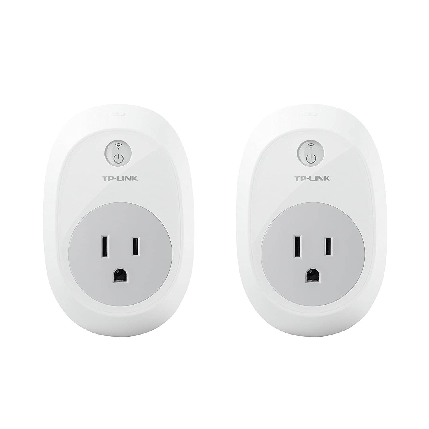Amazon treasure truck: TP-Link HS100 Smart Plug (2-Pack) Works with Alexa and Google Assistant on sale for $34