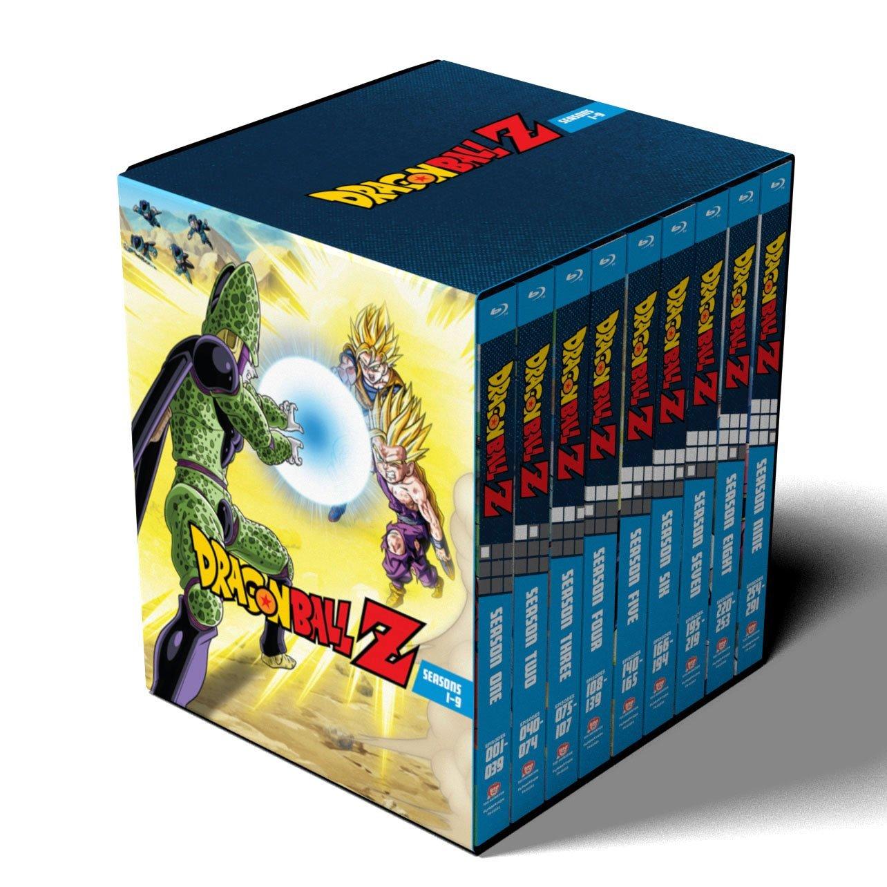Dragon Ball Z: Seasons 1-9 Collection $126.33 + Free Shipping