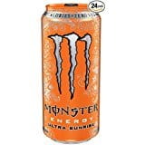 Monster Energy Drink - Grape or Orange 24 cans 16oz for Prime Memebers - Amazon