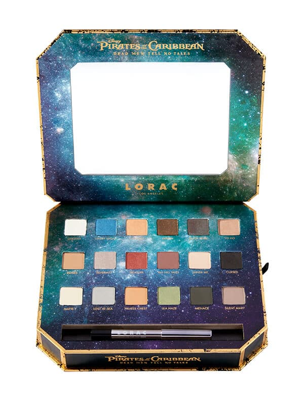 Lorac Pirates of the Caribbean Pro Eye Shadow Palette $26 + Free Shipping