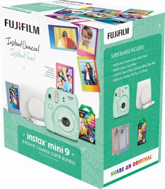 Fujifilm Instax Mini 9 Camera Bundle w/$20 Shutterfly Credit + Free S&H $74.99
