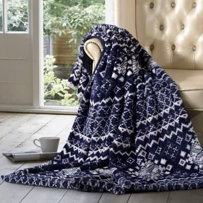 Sam's Club One Day Only: Member's Mark Luxury Faux Fur Throw (Assorted Patterns) $19.98 In Store Only YMMV