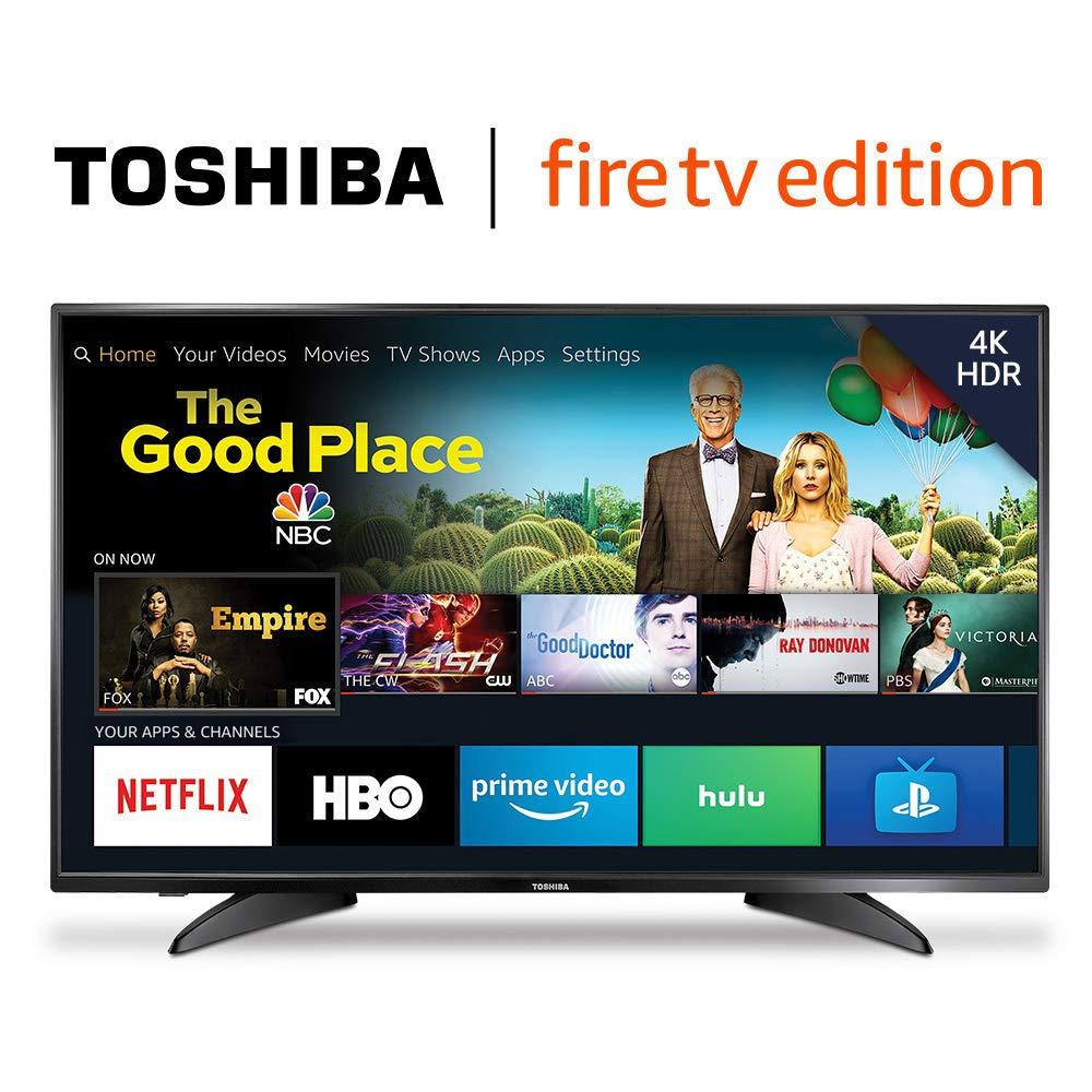 Amazon: Toshiba 50LF621U19 50-inch 4K Ultra HD Smart LED TV HDR - Fire TV Edition [4K UHD] $298.75 + Free Shipping