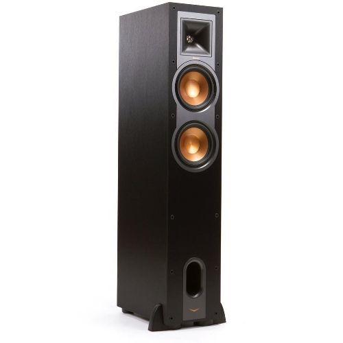"Klipsch - Reference Dual 6-1/2"" Floorstanding Speaker (Each) - Black $174.99"