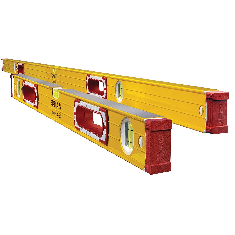 Stabila 37532 Jamber 78-Inch and 32-Inch Aluminum Box Beam Level Set $206.47