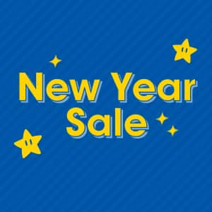 Nintendo New Year Sales! $41.99 or less