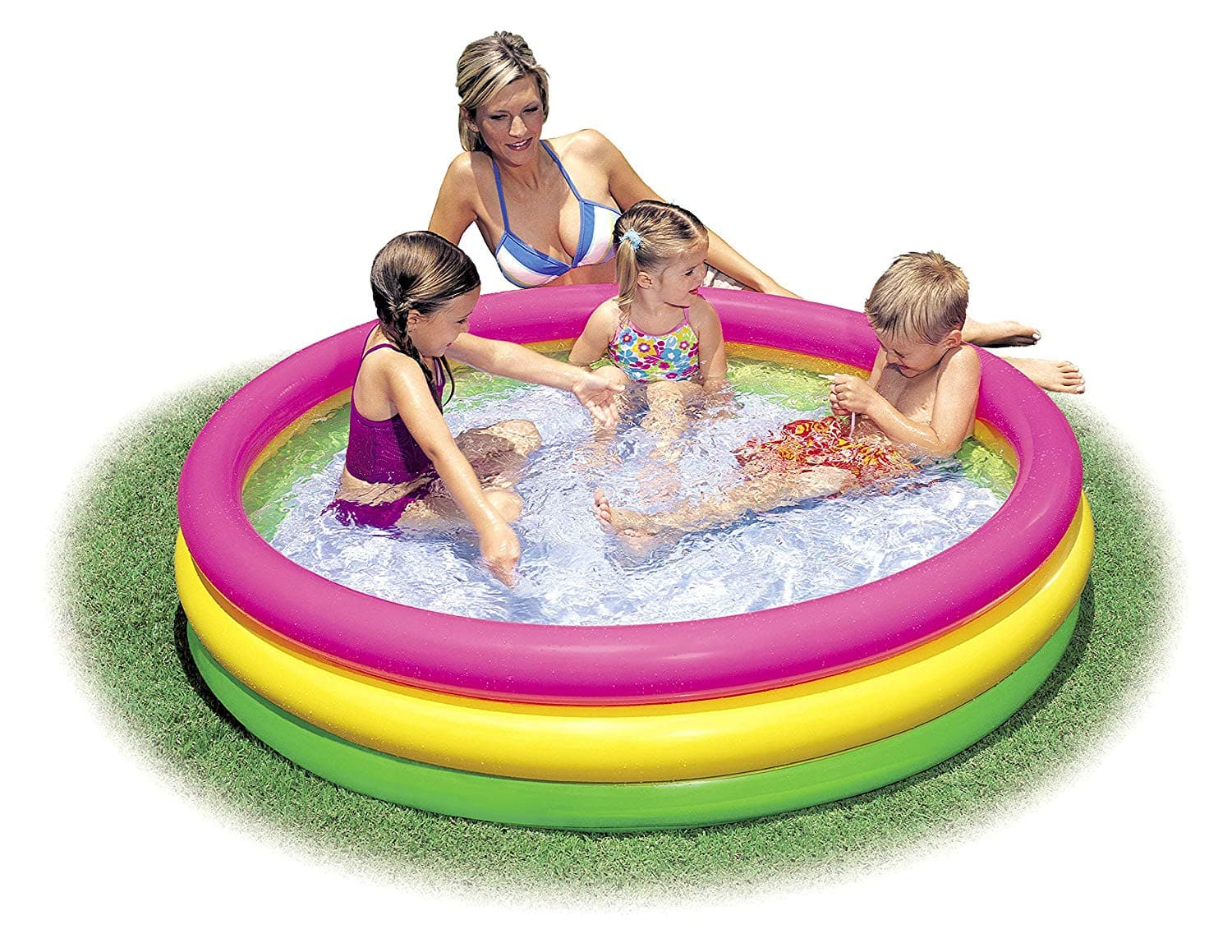 Intex Kiddie Pool - Kid's Summer Sunset Glow Design $12.65