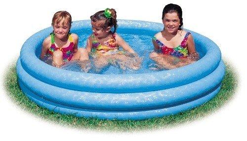 Crystal Blue Inflatable Pool $9.44