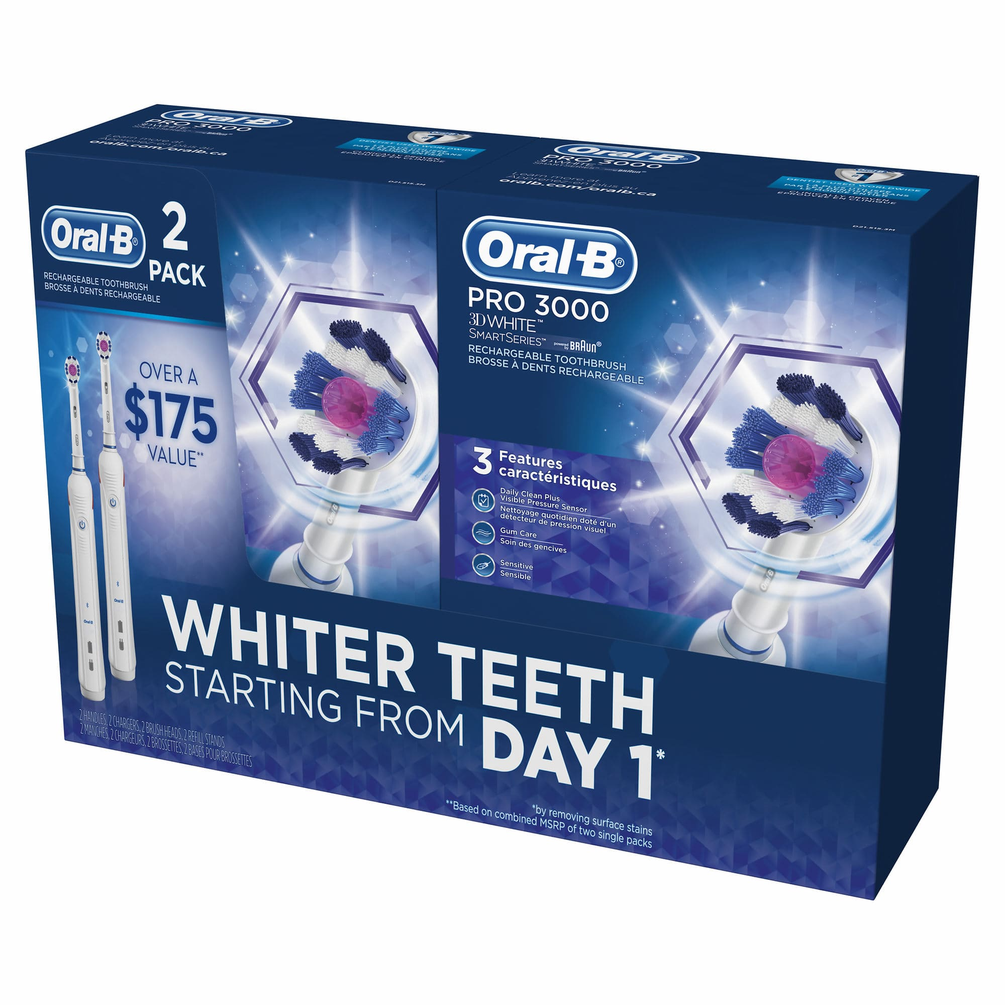Oral-B 3000 3D White Electric Toothbrush. As Low As $17.49 Each In Two-Pack. YMMV