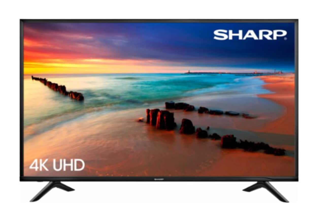 "Sharp - 60"" Class (59.5"" Diag.) - LED - 2160p - Smart - 4K Ultra HD TV $549.99"