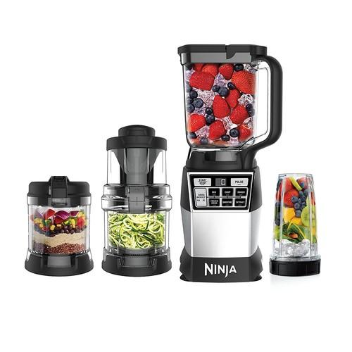 Ninja 4-in-1 Kitchen System, Blending, Processing & Spiralizing (AMZ012BL) $180.05 +FS @amazon