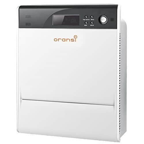 Oransi Max HEPA Large Room Air Purifier, OVHM80 V-HEPA (Complete Set) w/ Bonus: Premium Microfiber Cleaner Bundle $310.43 FS@amazon