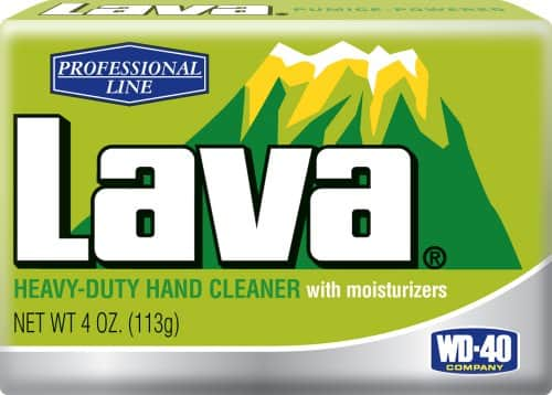 Lava 100836 Professional Line Heavy Duty Hand Cleaner with Moisturizers, 4 oz. $1.37 add-on item @amazon